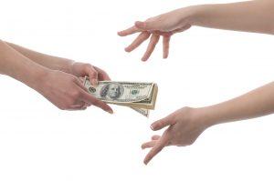 eBay Money to hands